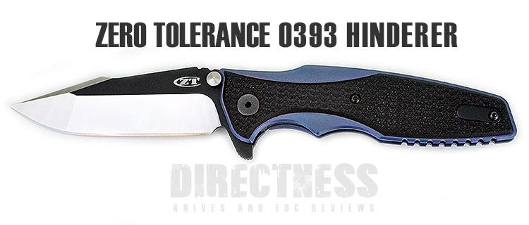 ZT0393 Hinderer Folding Knife   Folding knives, Flipper, Knife