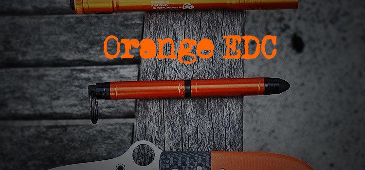 Orange Everyday Carry